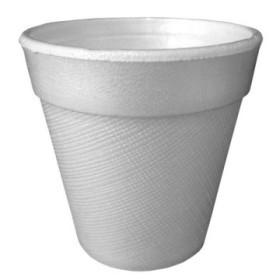 gobelet isotherme en polystyrène blanc 24 cl x 100