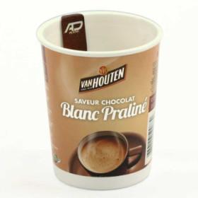 gobelet easy cup  - chocolat blanc praliné van houten x 10