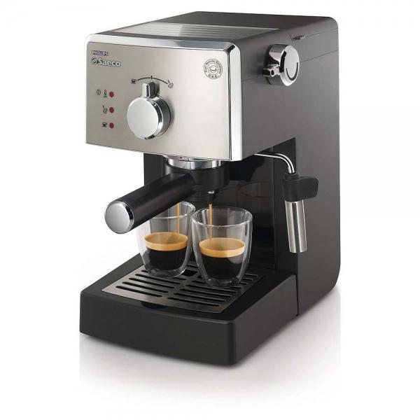 machine percolateur saeco poemia noir et inox hd8425/11