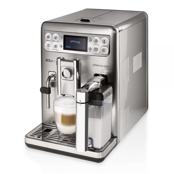 machine à café saeco exprelia evo argent hd8858-01