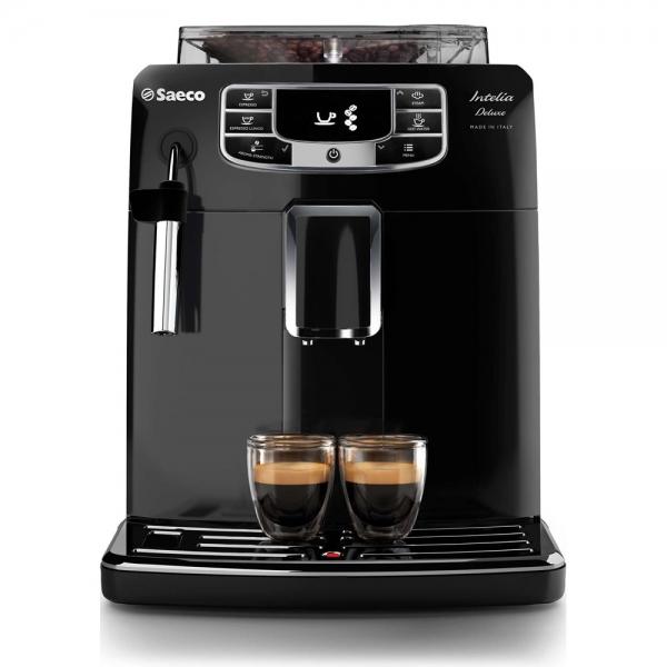 machine à café saeco intelia super auto noir laquée hd8902/01