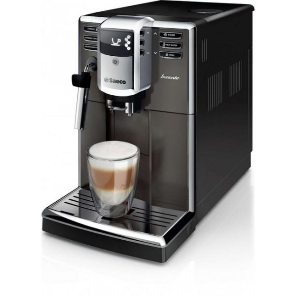 machine à café robot cafe saeco gris titane