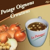 boisson pré-dosée potage oignons avec croûtons x 20