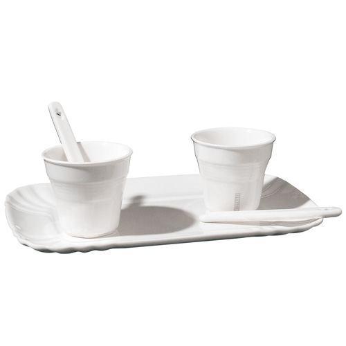 duo tasses de café seletti en porcelaine