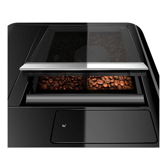 machine à café melitta caffeo barista ts noir