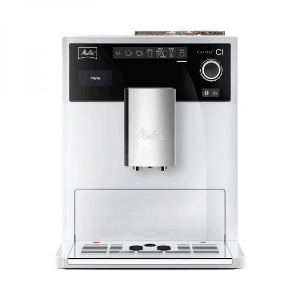 machine expresso melitta caffeo ci blanc glacé