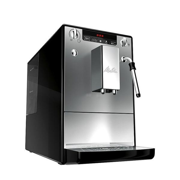 machine à café expresso melitta caffeo solo & milk argent et noir