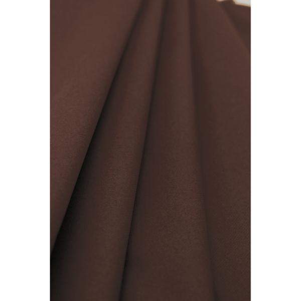 nappe papier rouleau uni marron (1,2 x 10 m)