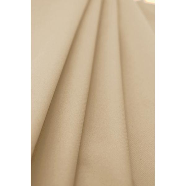 nappe papier rouleau uni grège (1,2 x 10 m)