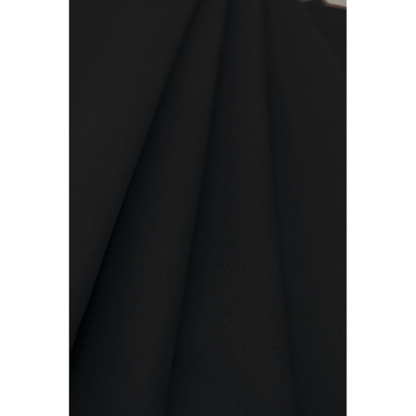 nappe papier rouleau uni noir (1,2 x 10 m)
