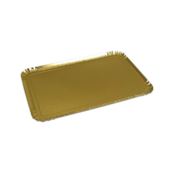 plateau de service rectangle or (19 x 28 cm) x 25