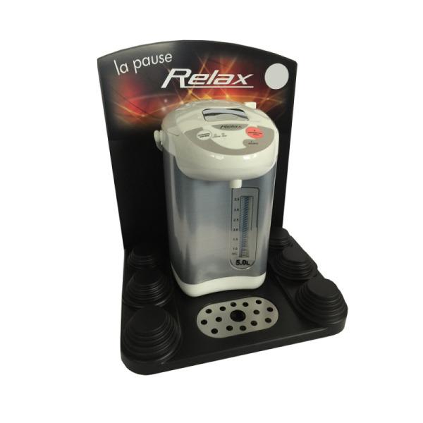 chauffe eau électrique + présentoir relax