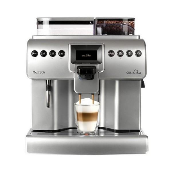 robot café saeco aulika focus silver