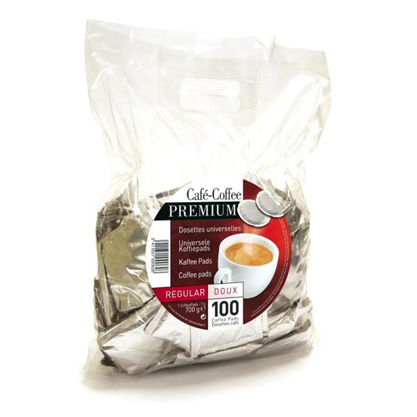 dosettes pour senseo® regular doux café liégeois x 800