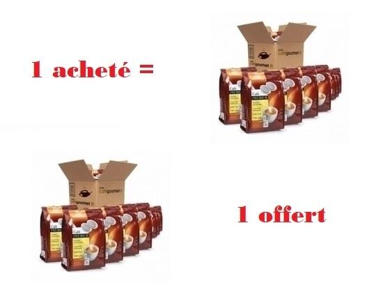 dosettes pour senseo® premium sélection brut café liégeois x 360 1 acheté = 1 offert