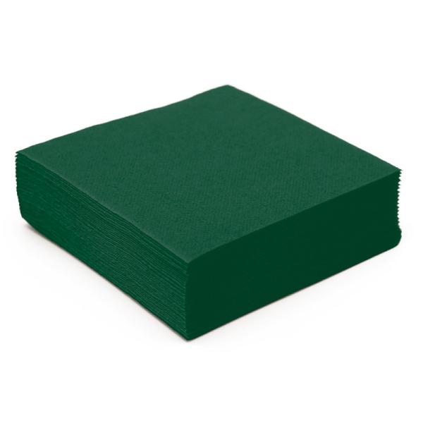 serviette papier micro gaufrée vert (38 cm) x 50