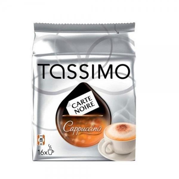 8 dosettes tassimo carte noire - cappuccino