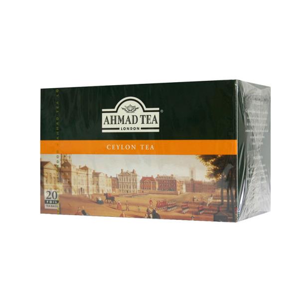 sachets de thé noir ahmad tea ceylan x 120