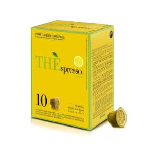 capsules nespresso® compatibles the'spresso lemon caffè vergnano x 10