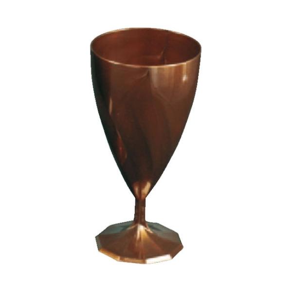 verre à vin jetable design chocolat x 6