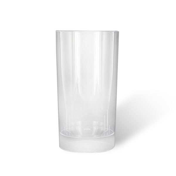 verre plastique cristal transparent long drink (20 cl) x 10