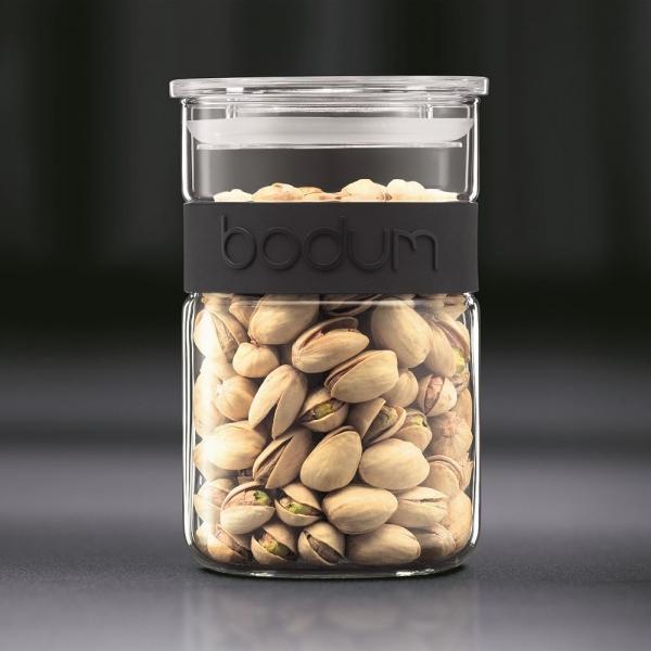 bocal presso bodum® 60 cl bandeau en silicone noir