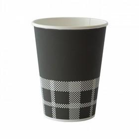 50 gobelets en carton noir izza 35 cl