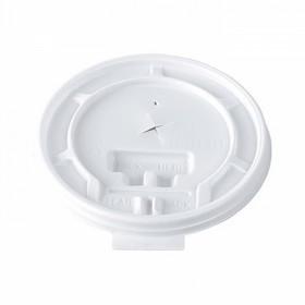 100 couvercles en plastique pour gobelets thermo 30 cl