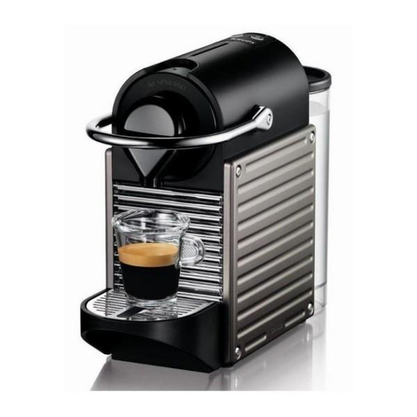 cafetière nespresso krups pixie titane