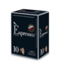 Capsules Nespresso® compatibles Espresso Arabica Caffè Vergnano x 10 DLUO 03/2020