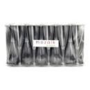 10 flûtes à Champagne en plastique rigide transparent 10 cl