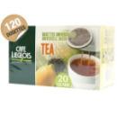 Dosettes pour Senseo® thé noir Lemon & Lime Café Liégeois x 120
