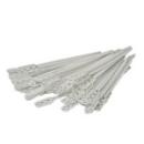 Agitateur plastique blanc jetable x 150