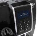Machine à café noire Dinamica broyeur à grains De\'Longhi FEB 3555.B