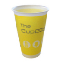 Gobelet isotherme Cup 2 Go jaune 25 cl x 45