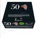 Capsules Nespresso® compatibles Espresso Lungo Intenso Caffè Vergnano x 50