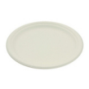 50 assiettes rondes rigides biodégradables 26 cm