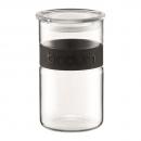 Bocal PRESSO BODUM® 1l bandeau en silicone noir