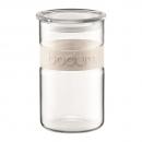 bocal presso bodum® 1l bandeau en silicone blanc