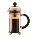 Cafetière à piston CHAMBORD BODUM® 3 tasses 35 cl cuivre