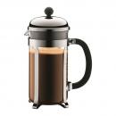 Cafetière à piston CHAMBORD BODUM® 8 tasses 1 l brillant
