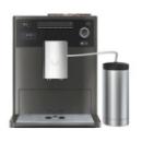 machine à café melitta caffeo ci anthracite avec pot à lait