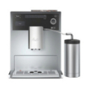 Machine à café Melitta CAFFEO CI Argent avec Pot à lait