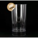 Verre plastique cristal transparent Long Drink (20 cl) x 420
