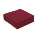 serviette cocktail papier micro gaufrée bordeaux (25 cm) x 50