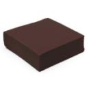 serviette  papier micro gaufrée marron (38 cm) x 50