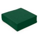 serviette cocktail papier micro gaufrée vert (38 cm) x 50