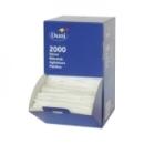 Boîte distributrice de 2000 agitateurs en plastique
