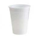 100 gobelets Economy en plastique blanc 21 cl