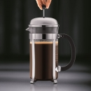 Cafetière à piston CHAMBORD BODUM® 8 tasses 1 l brillant
